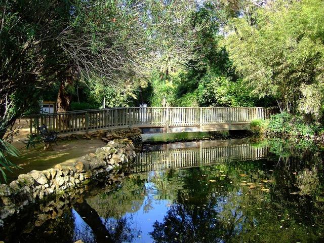 Seville maria luisa park spain.