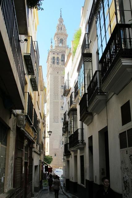 Seville spain minaret.