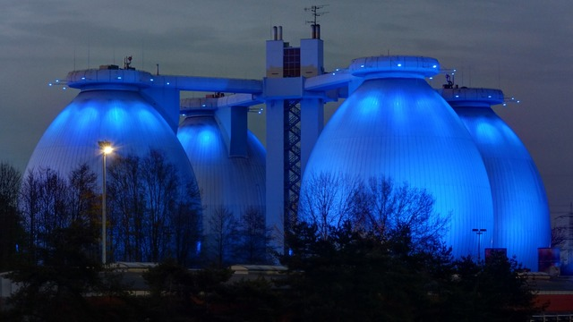 Sewerage b224 illuminated, science technology.