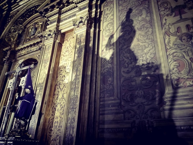 Shadow effect of light church, religion.