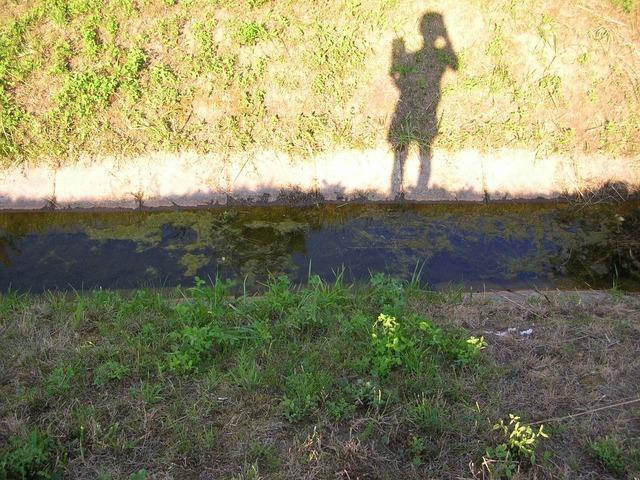 Shadow light and shadow shadow play.