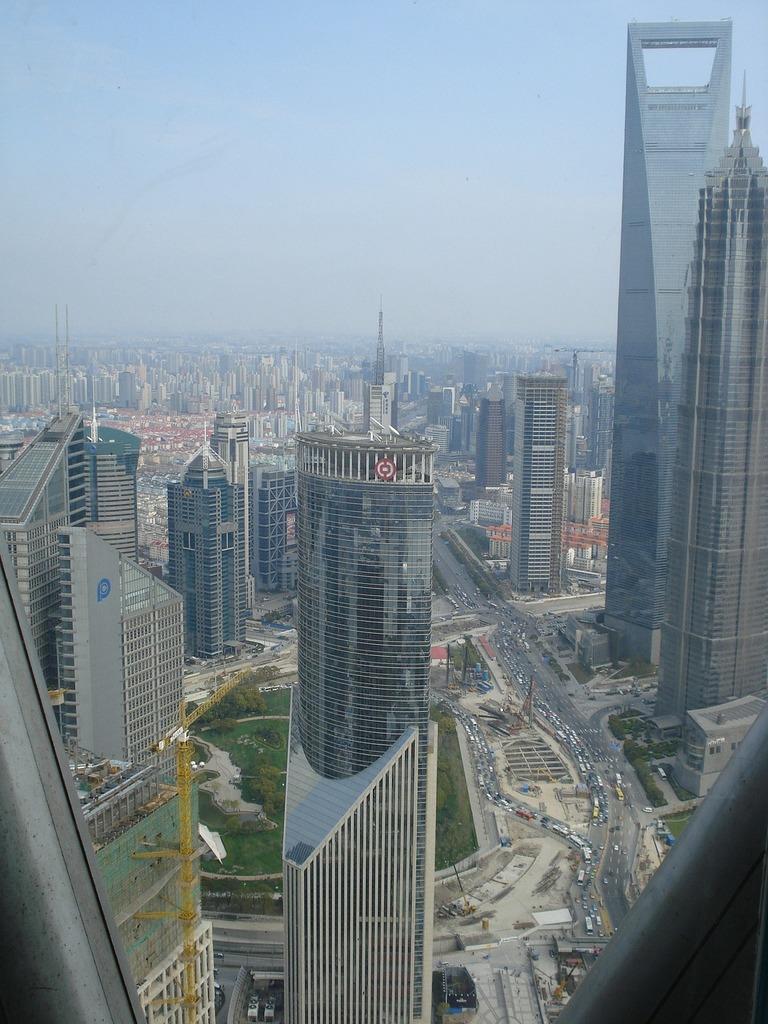 Shanghai tower building, architecture buildings.