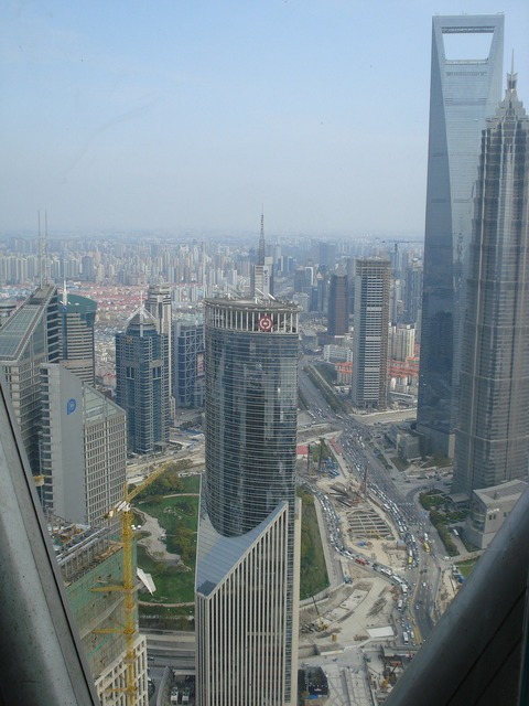Shanghai tower building, architecture buildings.