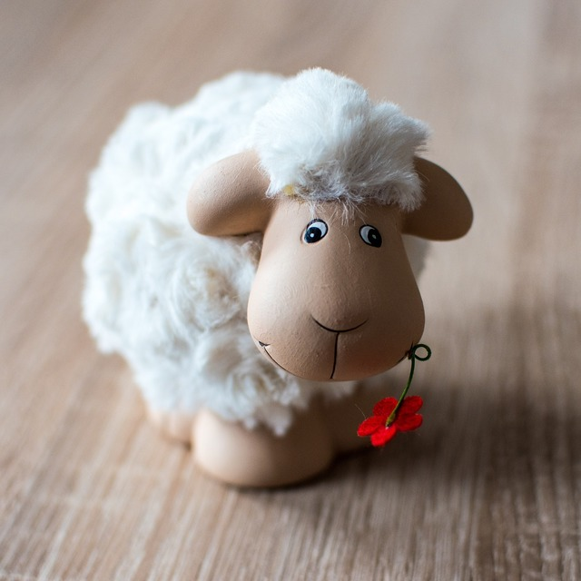 Sheep easter schäfchen.