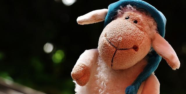 Sheep sleepyhead plush.