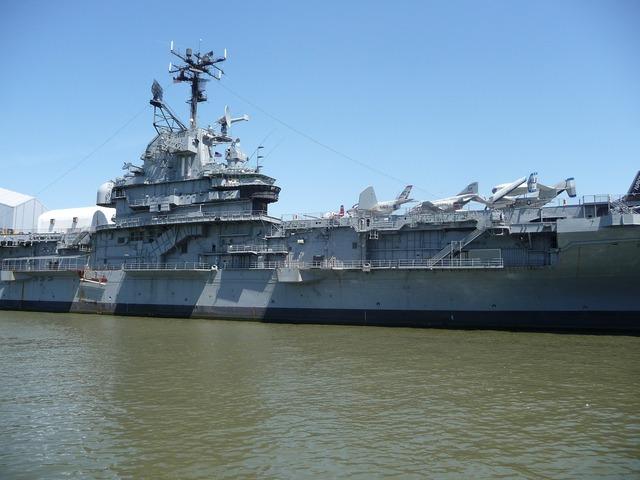 Ship aircraft carrier port.