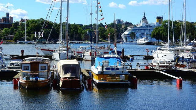 Ship bay port.