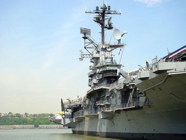 Ship river aircraft.