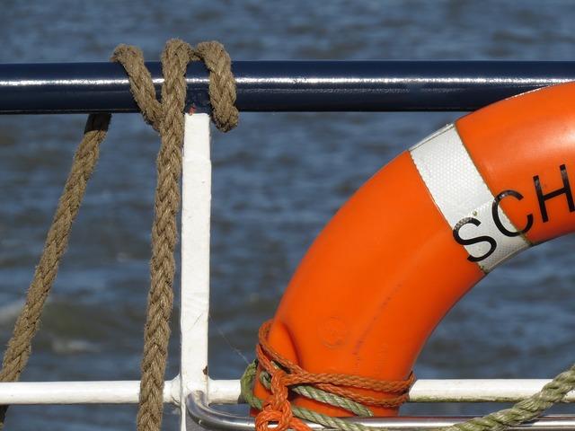 Shipping lifebelt maritime.