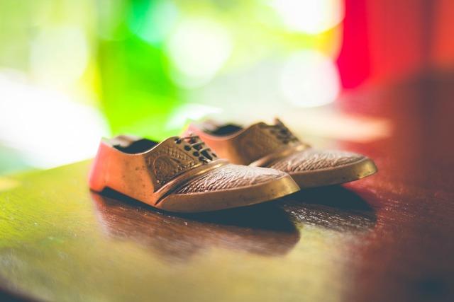 Shoes design bokeh.