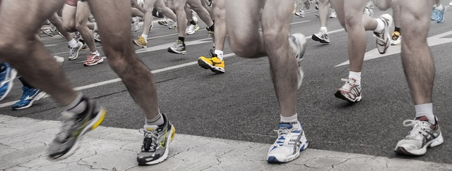 Shoes marathon race, transportation traffic.