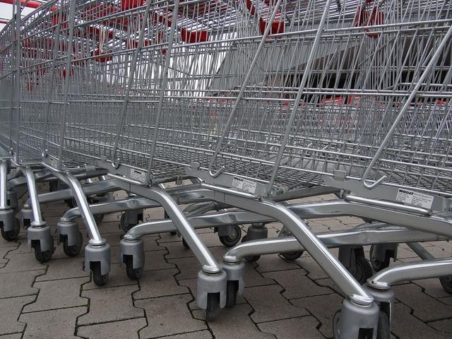Shopping cart shopping supermarket, food drink.