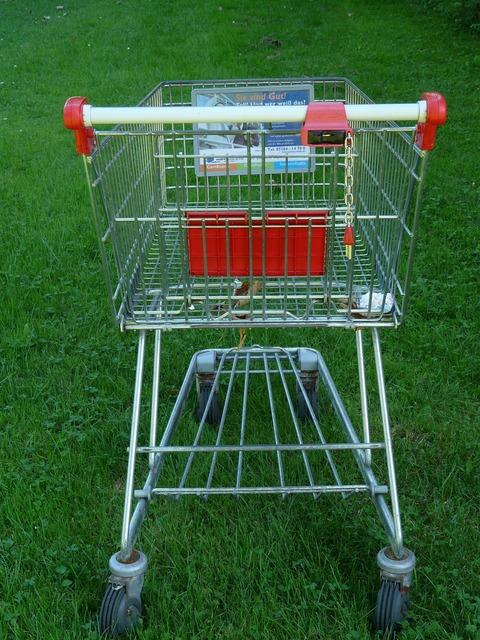 Shopping cart shopping supermarket, transportation traffic.