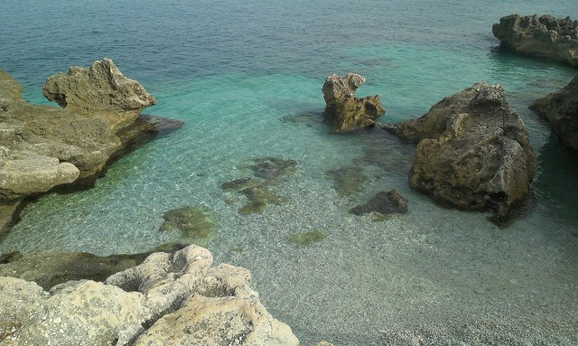 Sicily zingaro sea, travel vacation.