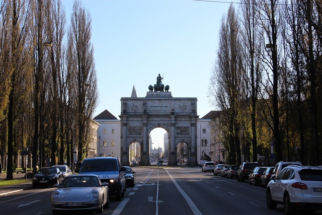 Siegestor munich building, architecture buildings.
