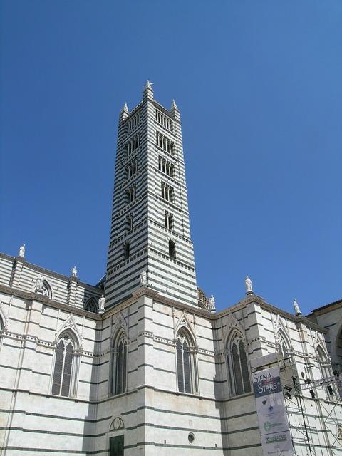 Siena tuscany duomo, architecture buildings.