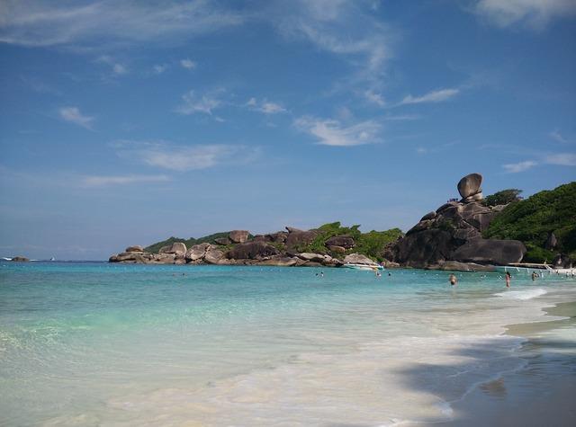 Similan island donald duck rock booked, travel vacation.