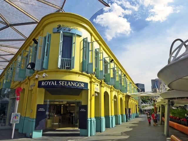 Singapore clarke quay building, architecture buildings.