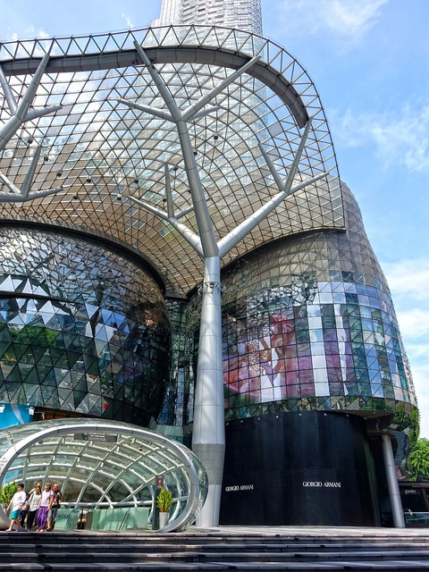 Singapore ion orchard orchard road, architecture buildings.