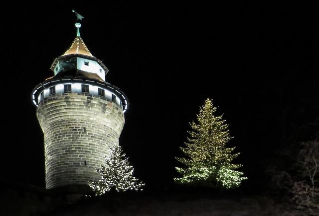 Sinwelturm nuremberg castle.