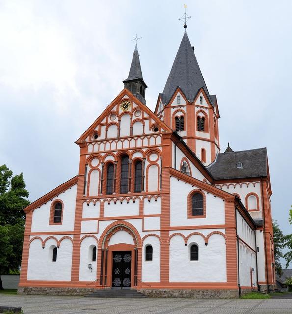 Sinzig church rhine, religion.