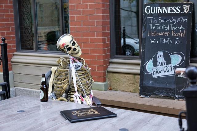 Skeleton dead bar.