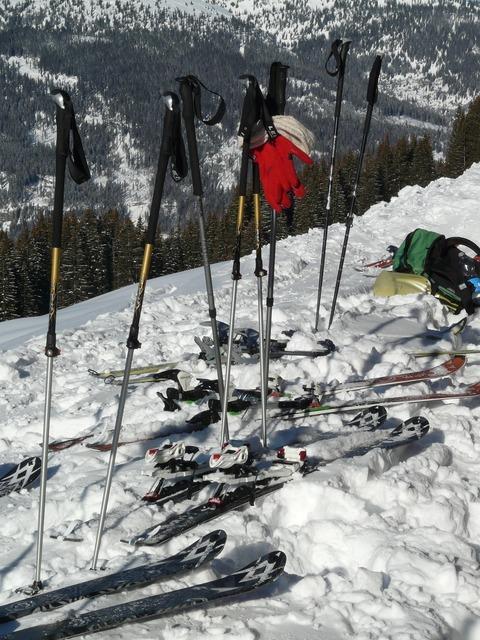 Ski poles sticks ski, sports.