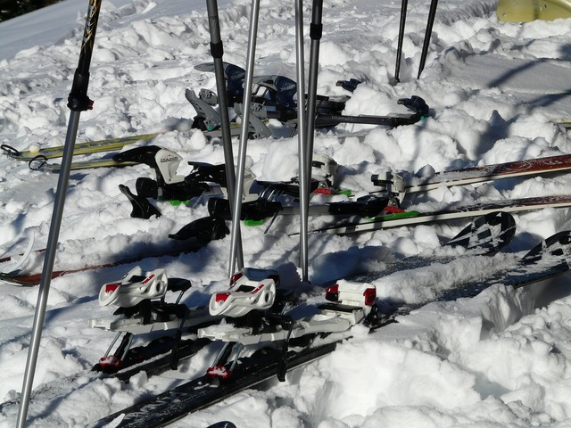 Ski touring skis backcountry skiiing, sports.