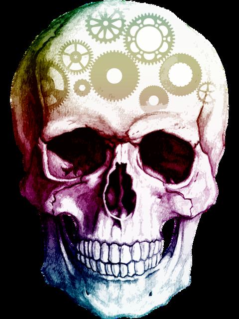 Skull cogs thinking, people.