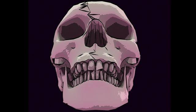 Skull skeleton bone, health medical.