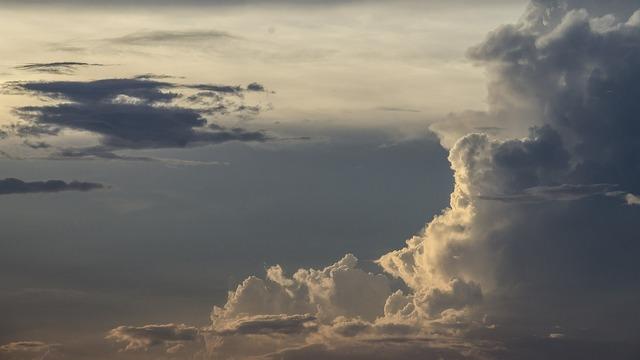 Sky cloud good morning.
