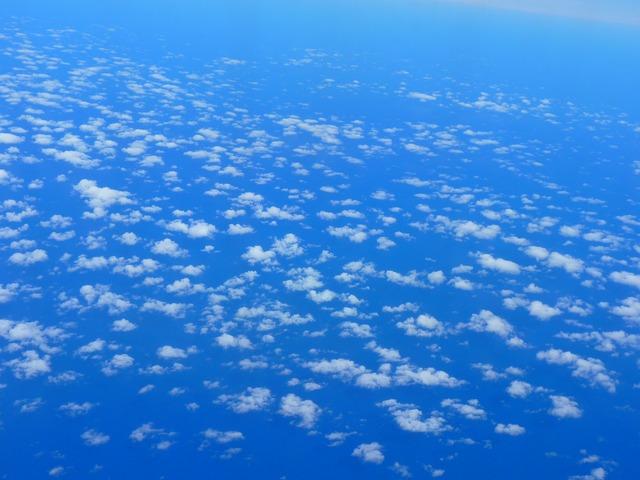 Sky clouds space.