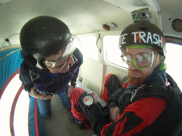 Skydiving sky parachuting, sports.