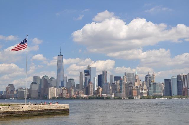 Skyline newyork usa.
