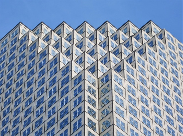 Skyscraper miami florida, architecture buildings.