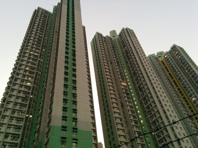 Skyscrapers hong-kong asia, architecture buildings.
