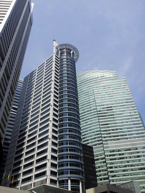 Skyscrapers singapore high rise building, architecture buildings.