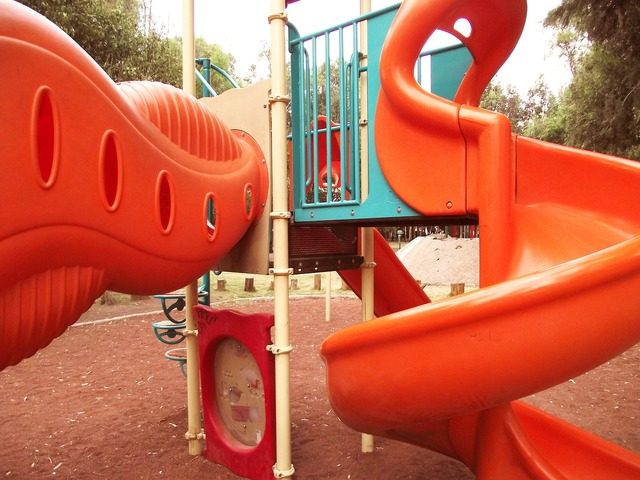 Slide child's play child, people.