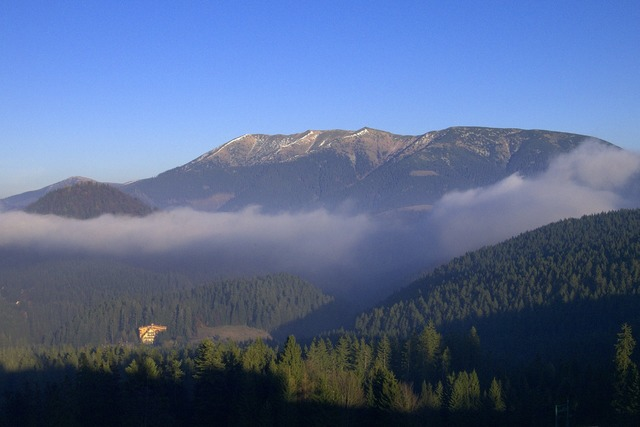 Slovakia mountains tatry.