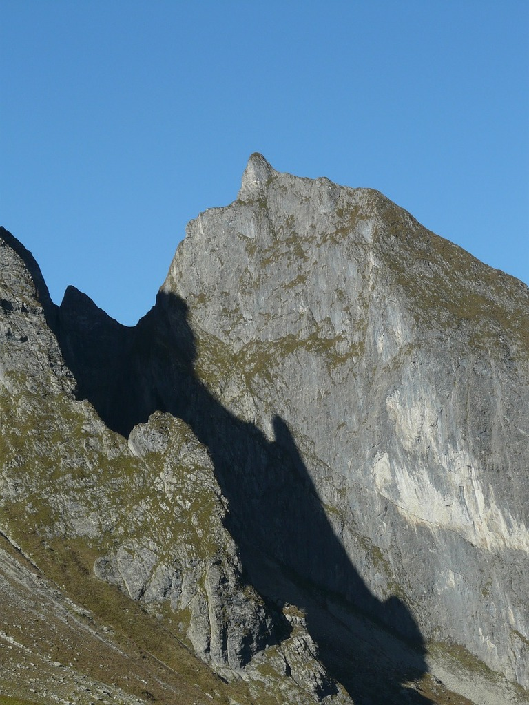 Small höfats mountain mountains, nature landscapes.