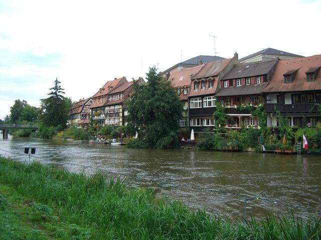 Small venice regnitz river.