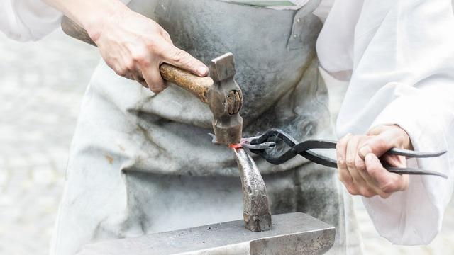 Smith furnace hammer.