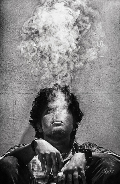 Smoke burn soul, religion.