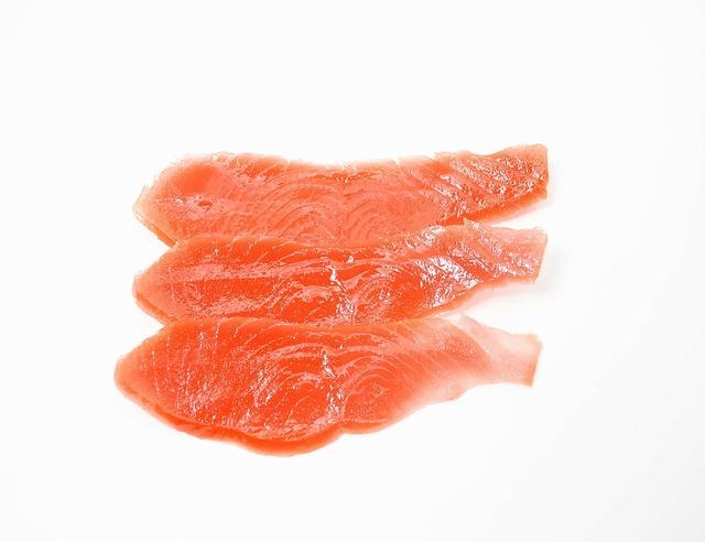 Smoked salmon salmon fish, food drink.