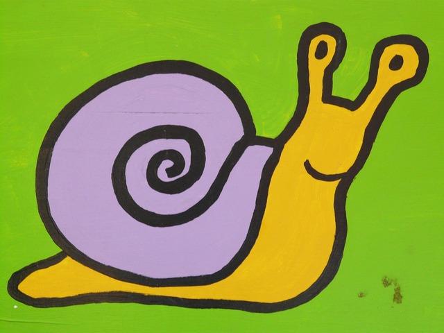 Snail cartoon character drawing, animals.