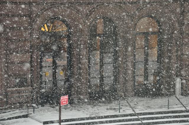 Snow public theater building, architecture buildings.