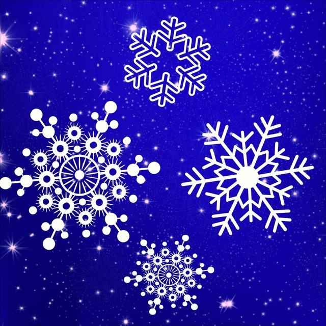 Snowflakes flake snow, backgrounds textures.