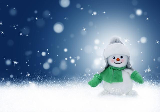 Snowman snow winter, backgrounds textures.