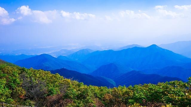 Sobaeksan republic of korea mountains.