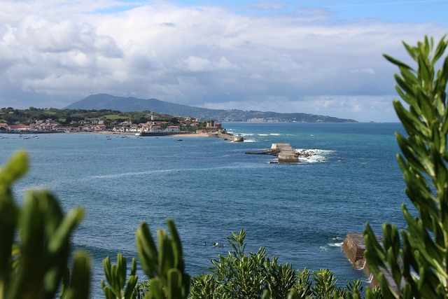 Socoa basque country sea.